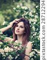 flower, female, face 28712294