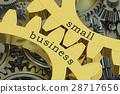 small, business, gearwheel 28717656