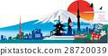 日本 矢量 白底 28720039