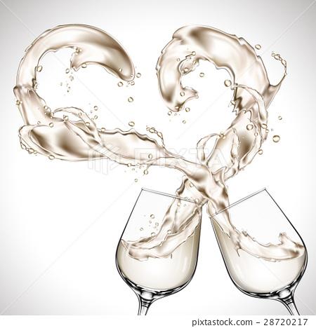wine glasses clash 28720217