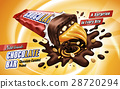 caramel chocolate bar ad 28720294