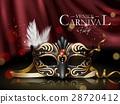 Venice carnival poster 28720412