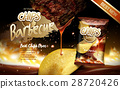 potato chips ad barbecue 28720426