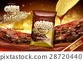 potato chips ad barbecue 28720440