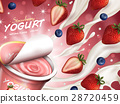 Fruity yogurt ads 28720459