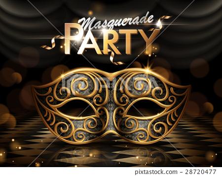 Masquerade party poster 28720477