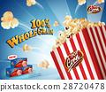 Classic popcorn ads 28720478