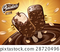 chocolate ice bar ad 28720496
