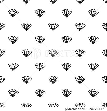 Color palette pattern, simple style 28722113