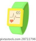 fitness bracelet icon 28722796