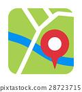 地圖 圖標 Icon 28723715