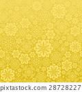 패턴, 금색, 황금 28728227