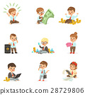 Kids In Financial Business Collection Of Cute Boys 28729806