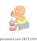 baby boy playing 28731764