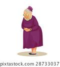 祖母 老人 卡通 28733037