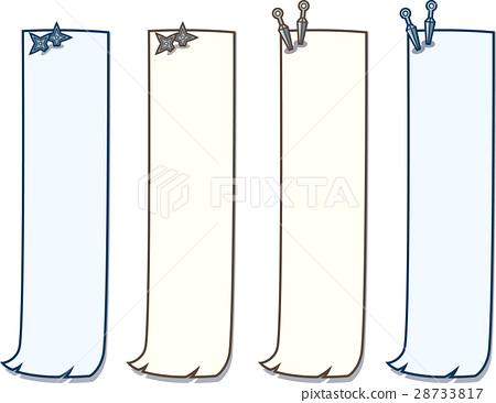 japanese style ninja s poster paper length