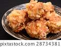 Deep-fried chicken delicious 28734381