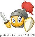 微笑符號 騎士 頭盔 28734820
