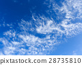 blue sky, clouds, cloud 28735810