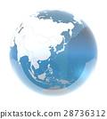 地球儀 土地 土 28736312