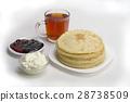 팬케이크, 핫케이크, 아침 28738509