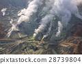 Active sulphur vents of Owakudani at Fuji volcano 28739804