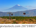 Mount Fuji, the highest mountain in Japan 28739807