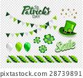 Set of illustrations for celebrating St. Patrick's 28739891
