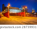 Architecture of the old town in Wroclaw, Poland. 28739931