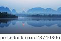 ทะเลสาบ,กระบี่,พระอาทิตย์ขึ้น 28740806