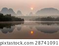 ทะเลสาบ,กระบี่,พระอาทิตย์ขึ้น 28741091