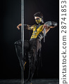 On the pole bodyart Scorpion 28741853