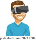 現實 虛擬 男性 28743784