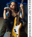 bass, guitar, player 28744398