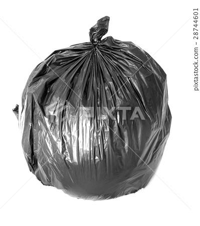 black bag of rubbish 28744601