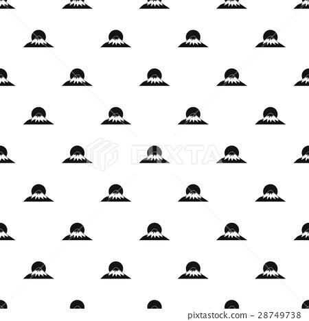The sac, mountain of Fuji Japan pattern 28749738