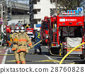 fire engine, firefighter, fireman 28760828