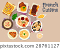 french, cuisine, vector 28761127