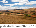 Madagascar countryside highland landscape 28767273