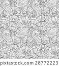 vector, pattern, sea 28772223