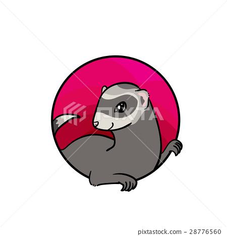 Animal hand drawn art, cute cartoon style 28776560