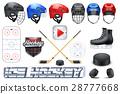 冰球 运动 一组 28777668