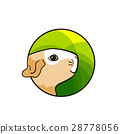 Animal hand drawn art, cute cartoon style 28778056