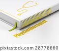 Medicine concept: book Stethoscope 28778660