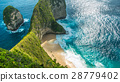 Manta Bay or Kelingking Beach on Nusa Penida 28779402