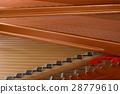 Close up of grand piano strings 28779610