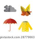 autumn, vector, clothes 28779663