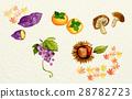 watercolour, watercolors, autumn 28782723