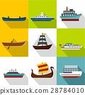 ocean, transport, icon 28784010