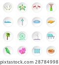 Singapore travel icons set 28784998